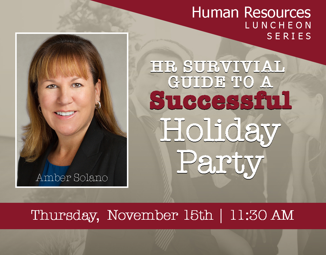 November | Human Resources Luncheon