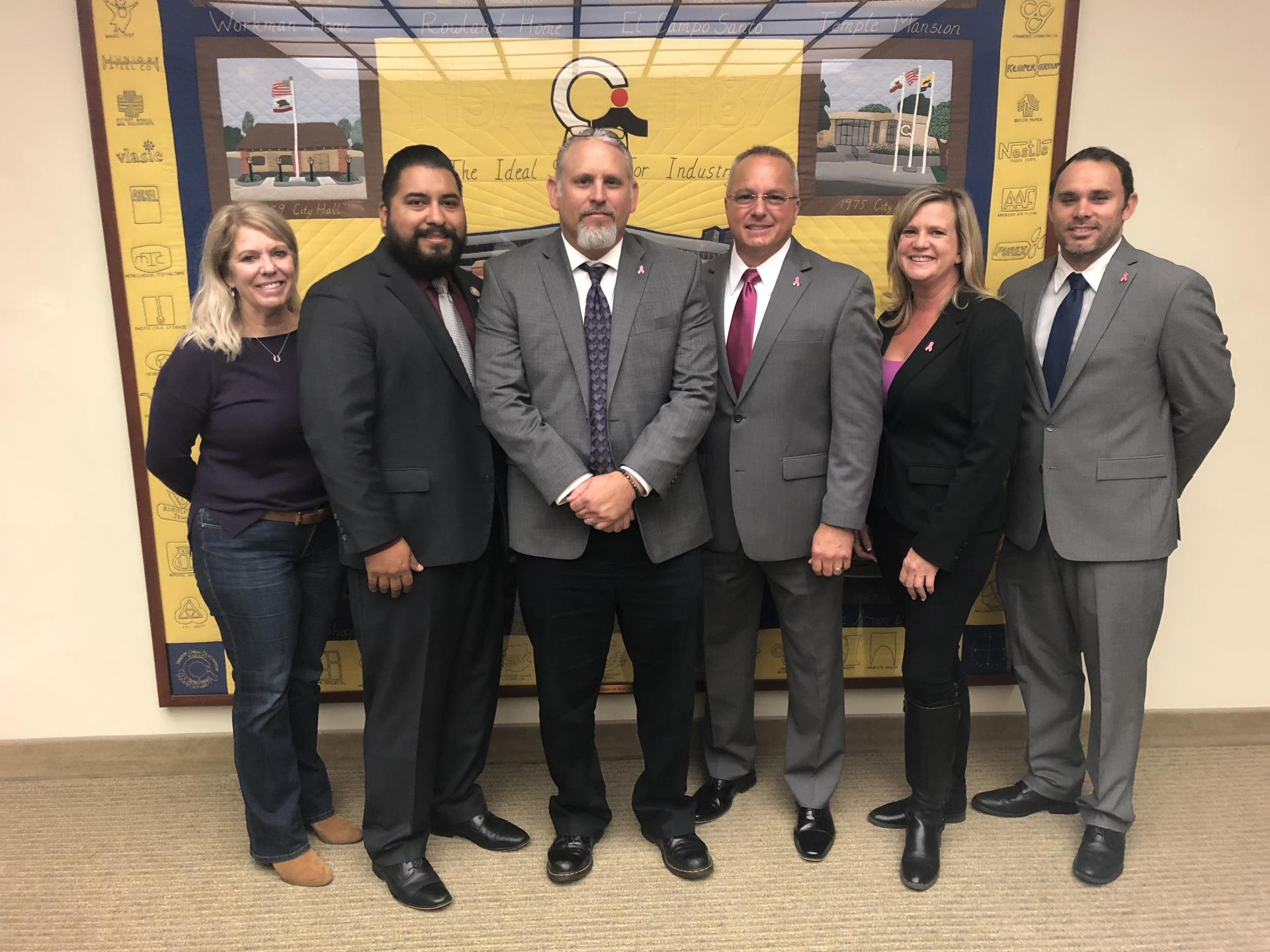 INDUSTRY CITY COUNCIL APPOINTS CITY MANAGER