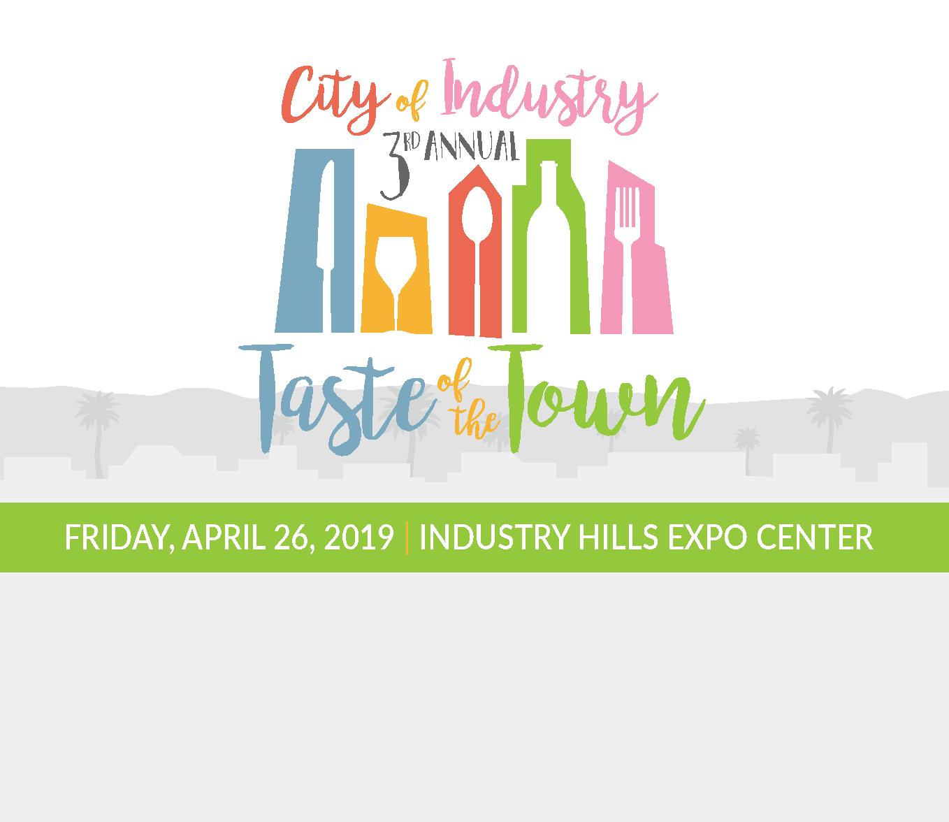 City of Industry | 3RD Annual | Taste of the Town