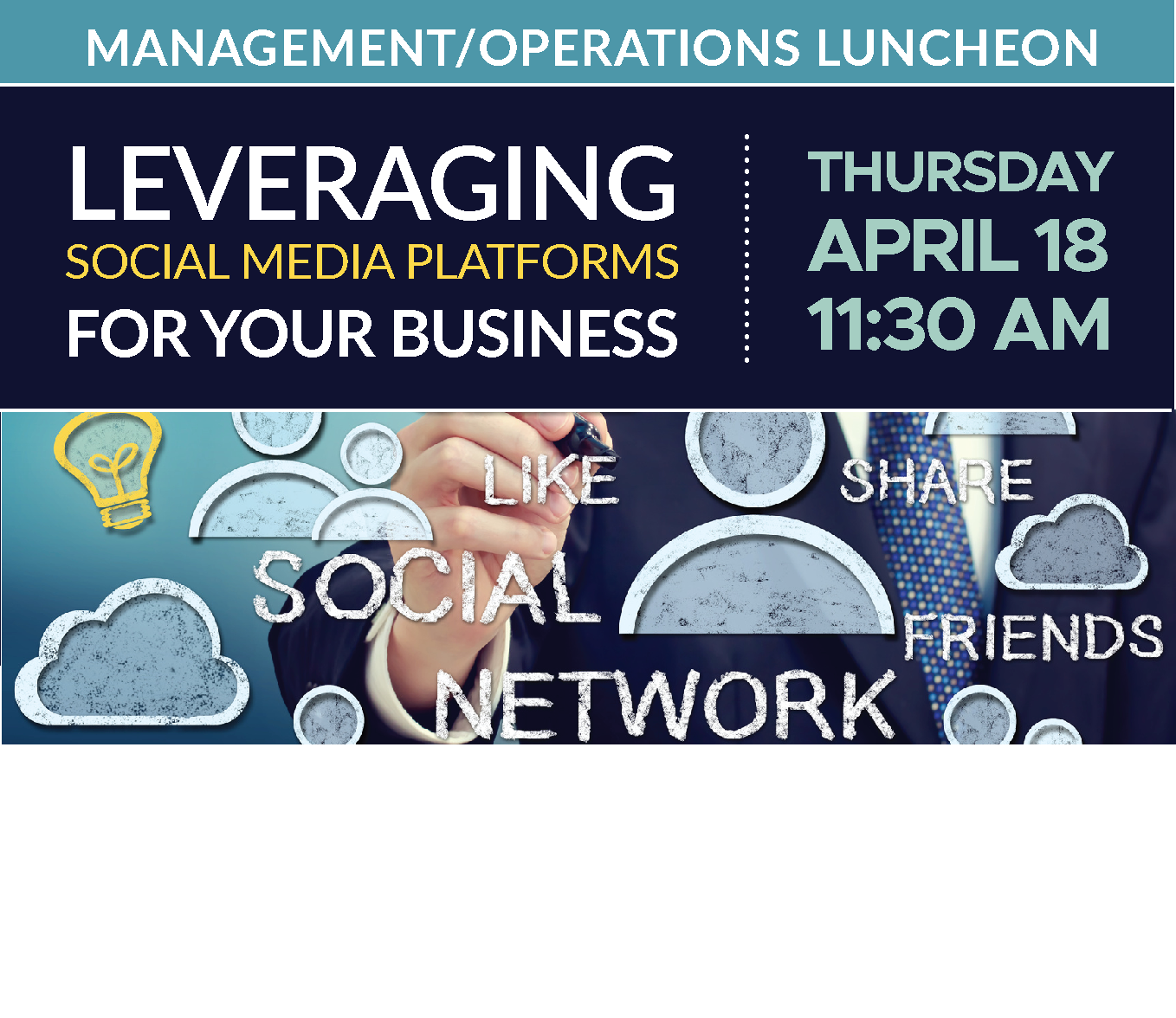 M\O Luncheon | Leveraging SOCIAL MEDIA Platforms for your Business